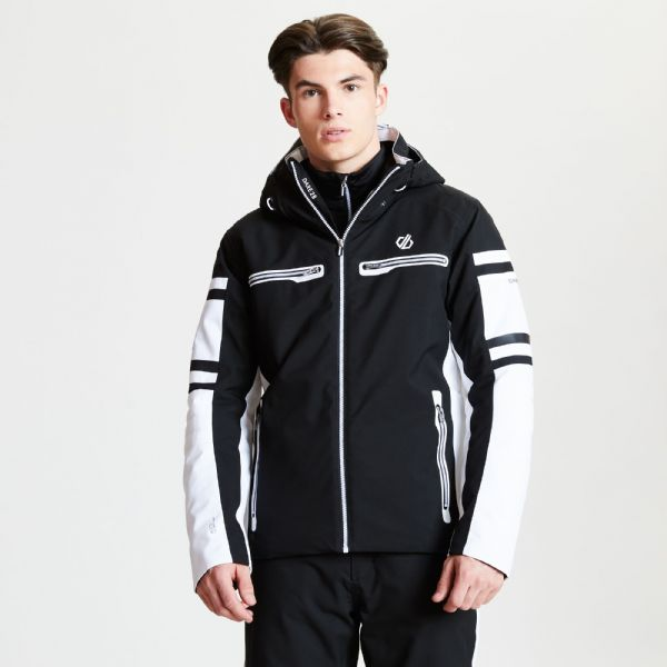 Men's Outshout Black Label Ski Jacket - Black